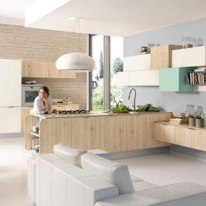 Półwysep w kuchni. Na zdjęciu: meble do kuchni dostępne w ofercie firmy Lube Cucine. Fot. Lube Cucine