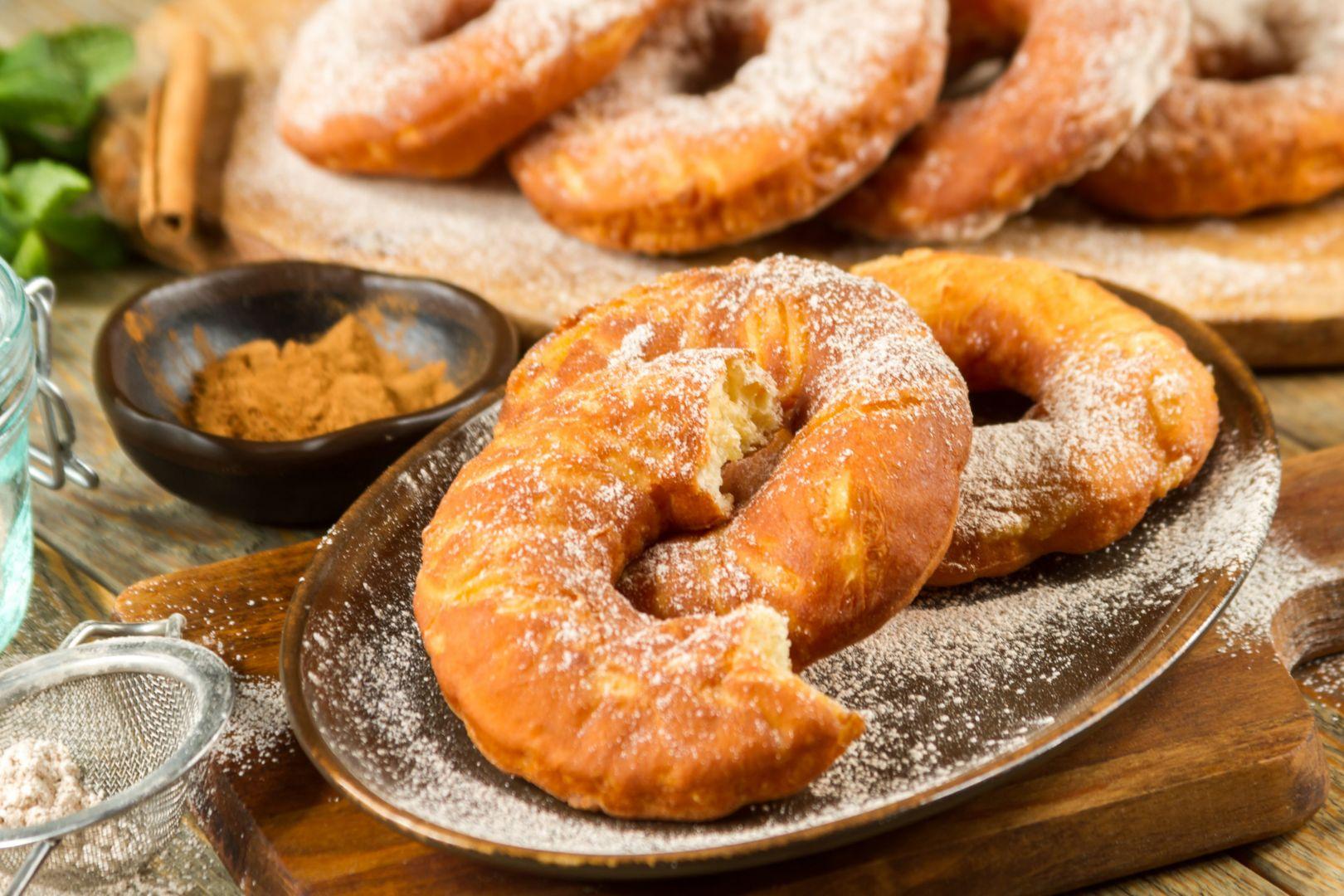 Amerykańskie paczki donuty. Fot. Konrr