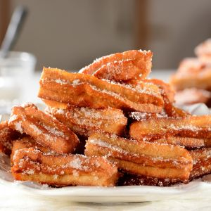 Hiszpańskie churros. Fot. Knorr