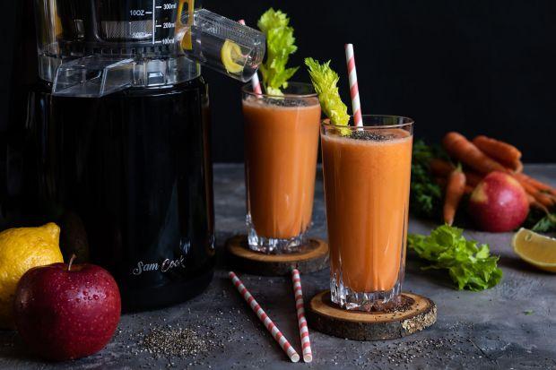 Wyciskarka wolnoobrotowa - sposób na zdrowe soki z warzyw i owoców