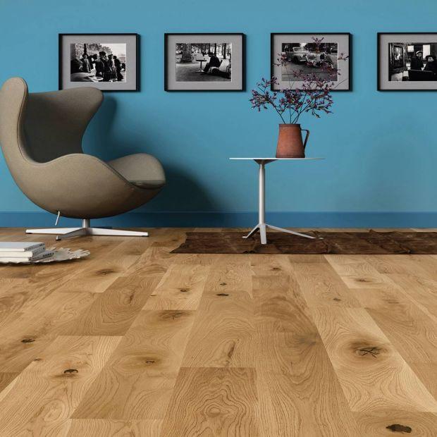 Drewniana podłoga: postaw na klasyczny dąb