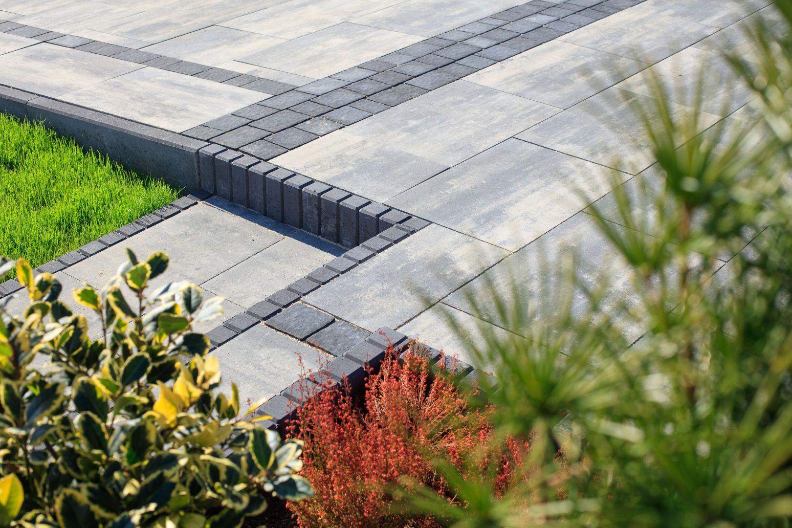 Płyty betonowe Multicomplex Trento. Fot. Polbruk