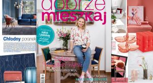 """Gwiazdą najnowszego wydania jest Sylwia Wilgatek-Wykuż. Prowadząca program """"Drugie życie mebli"""" na antenie HGTV opowiada nam o miłości do ładnych rzeczy, pięknych wnętrz i swoim miejscu do życia."""
