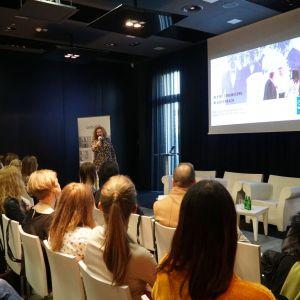 Prezentacja Katarzyny Masłowskiej pt. Trendy inspirowane targami Cevisama  2019
