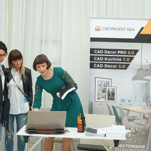 Stoisko firmy CAD Projekt C&A