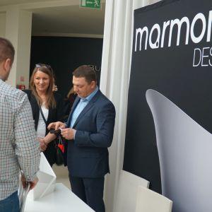 Stoisko firmy Marmorin Design
