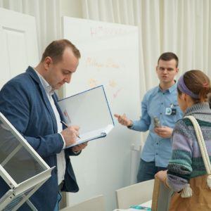 Studio Dobrych Rozwiązań w Toruniu 28 lutego 2019 r. stoisko firmy Hörmann