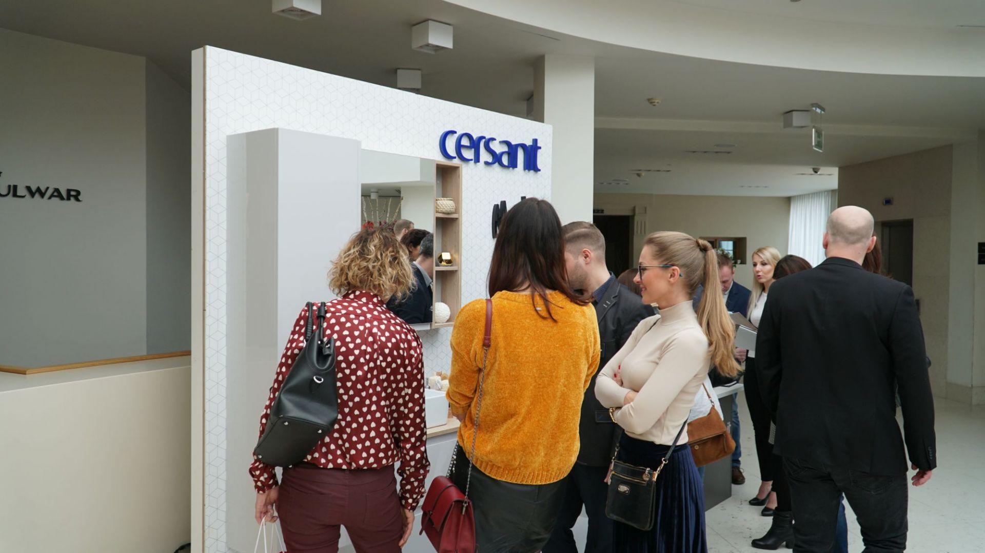 SDR Toruń, stoisko firmy Cersanit