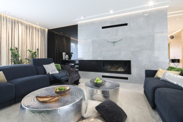 Nowoczesne wnętrze: piękny, rodzinny dom