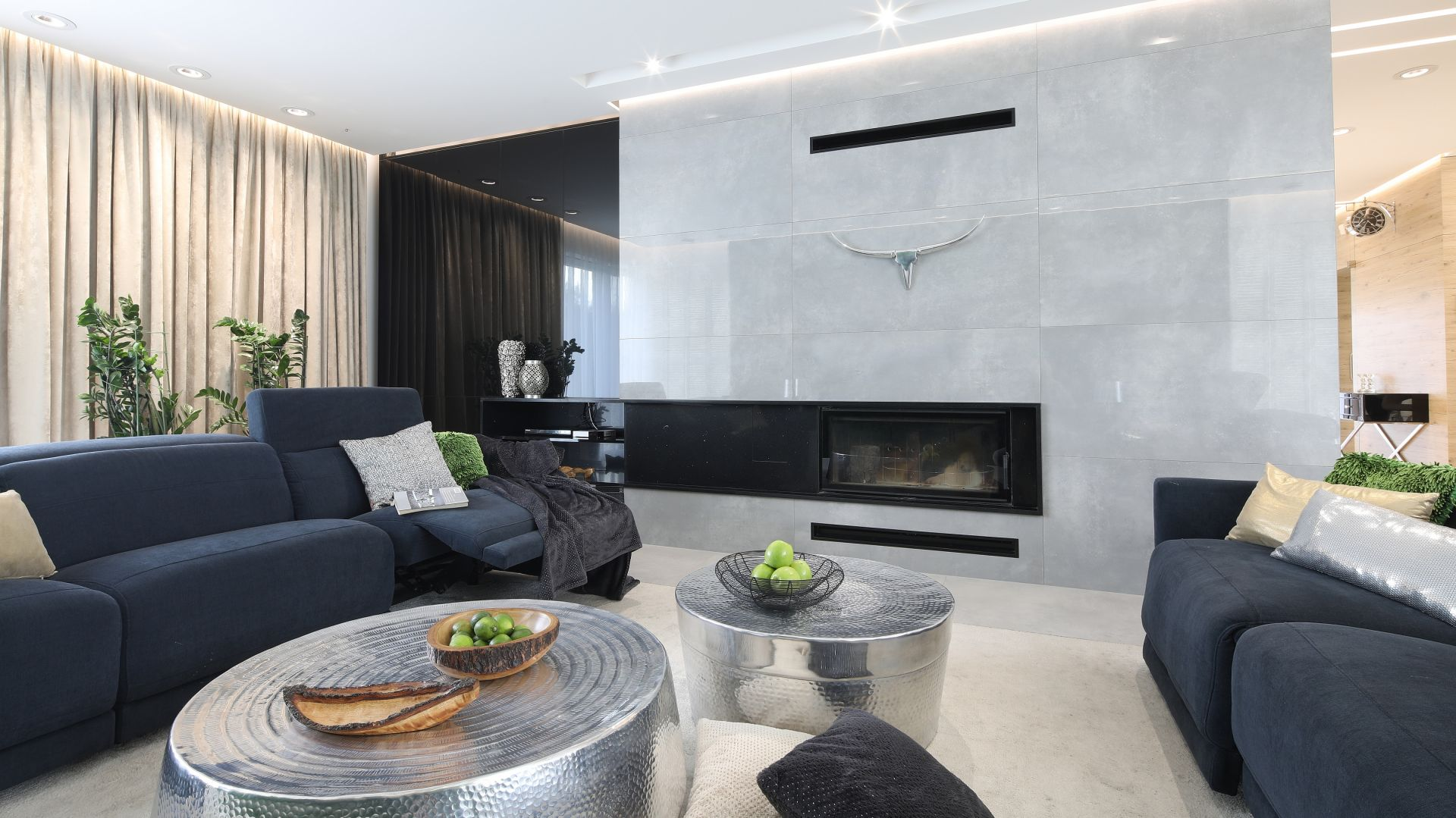 Piękne, rodzinne wnętrze w nowoczesnym stylu. Projekt: Dariusz Grabowski. Fot. Bartosz Jarosz