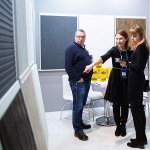 Stoisko firmy STO na targach 4 Design Days. Fot. Krzysztof Matuszyński