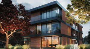 Głównym założeniem i podstawowym wymogiem inwestora był trójkondygnacyjny dom, który przy zachowaniu funkcjonalności i przestronności idealnie wpasowałby się w dość wąską działkę.Architektom zależało przy tym na uzyskaniu lekkości i