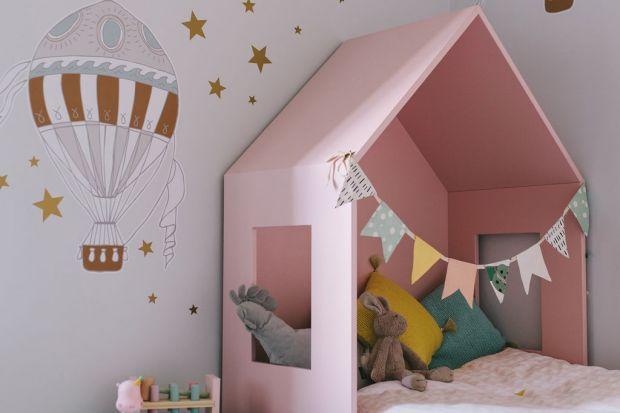Pokój dziecka zobacz ciekawe łóżeczko-domek