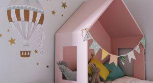 Nowoczesny mebel składa się z dwóch elementów: łózka (rama i stelaż; cena nie zawiera materaca) oraz daszek, który jest mobilny i może być ustawiony w komplecie lub w innym miejscu pokoju dziecinnego.