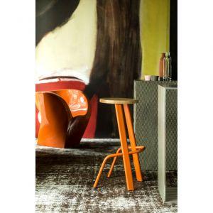 Zaprojektowane dla włoskiej marki Moroso, stołki barowe Sitting Bull zaprezentowano po raz pierwszy w 2014 roku w trakcie iSaloni w Mediolanie. Projekt: Studio Rygalik. Fot. Moroso