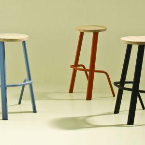 Sitting Bull - stołki barowe zaprojektowane dla włoskiej marki Moroso. Projekt: Studio Rygalik. Fot. Moroso