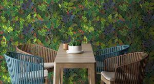 Kwiatowe motywy, podane z graficznym smakiem, elegancją, a przede wszystkim estetyczną lekkością, zachwycą poszukujących botanicznych inspiracji.