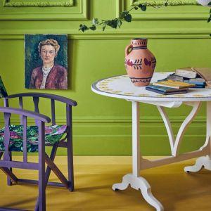 Firle - świeża, wibrująca zieleń to nowy kolor w palecie farb kredowych. Fot. Annie Sloan
