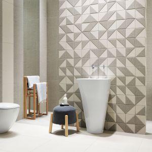 Nowa kolekcja płytek ceramicznych do łazienki - Chenille Modern. Fot. Tubądzin