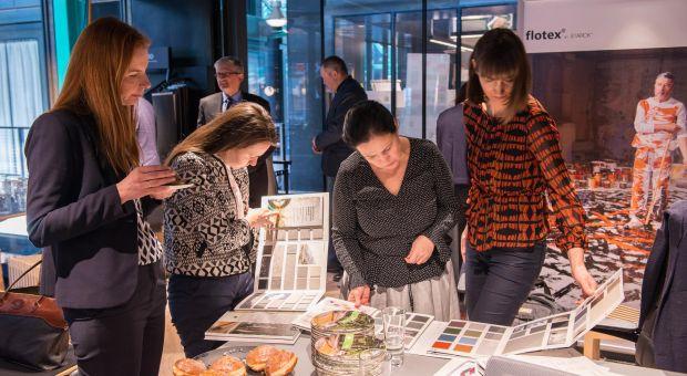 Marmoleum Open Day – prezentacja najnowszych podłóg linoleum firmy Forbo