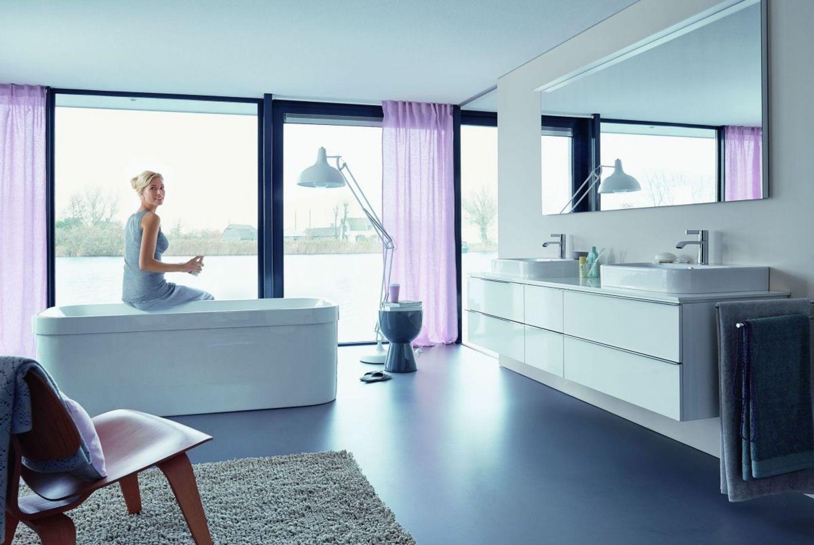 Pomysł na kobiecą łazienkę. Fot. Duravit