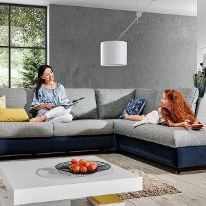 Doskonale zaprojektowana funkcja spania w narożniku Cali pozwoli na przenocowanie gości. Dzięki możliwości wyboru wśród trzech komfortów materaca, funkcja spania dopasowana jest do indywidualnych potrzeb domowników. Fot. Wajnert Meble