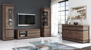 Naturalne drewno, oświetlenie oraz oryginalne fronty sprawiają, że nowa kolekcja mebli wprowadza do wnętrza niezwykle przytulny klimat.