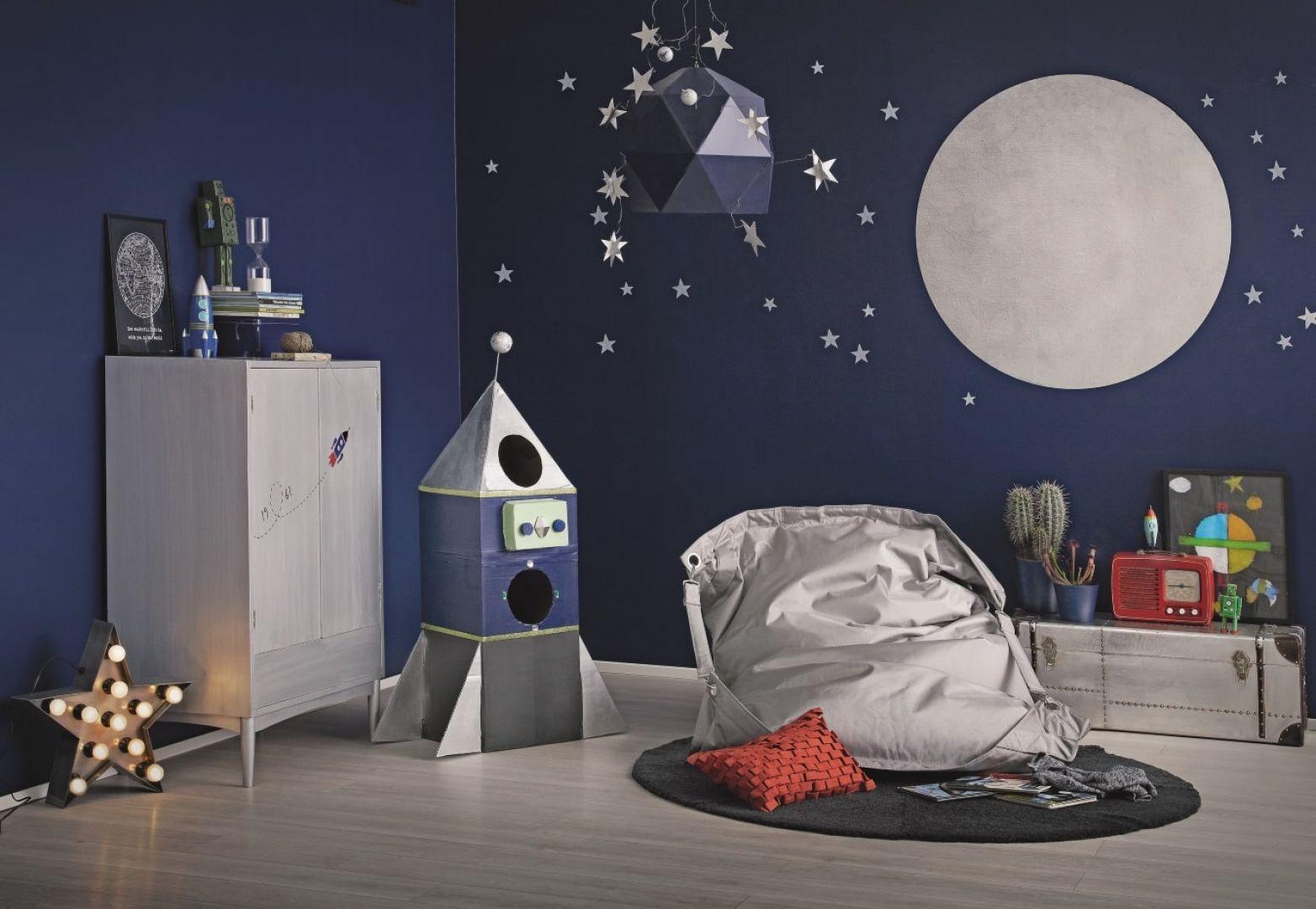 Farby z serii Tikkurila Kids Style przeniosą młodych domowników wprost do krainy fantazji. Fot. Tikkurila