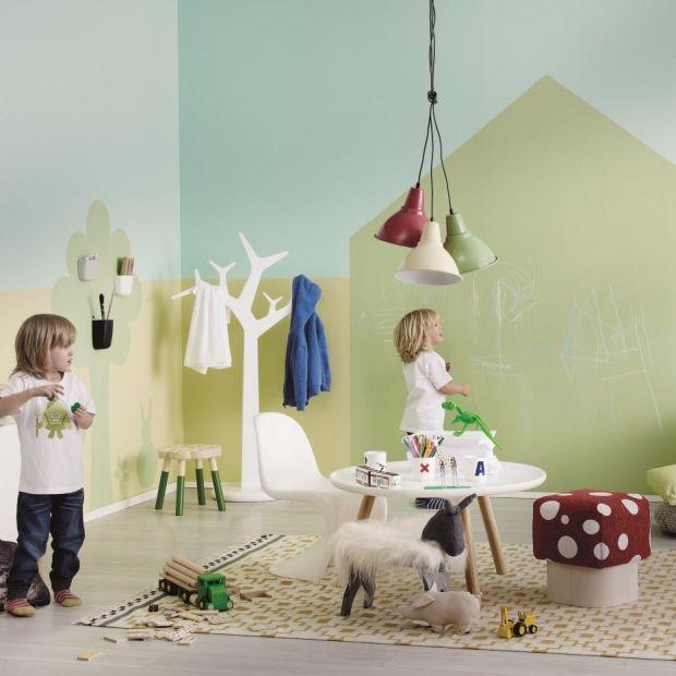 Pokój dziecka: wnętrza w bajkowych kolorach
