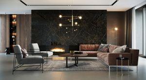 Kamień dekoracyjny, beton, drewno to najmodniejsze obecnie materiały. Zdobią ściany i podłogi zarówno w oryginalnej formie, jak też rysunku odwzorowanego na płytkach ceramicznych, gresowych czy podłogach winylowych.