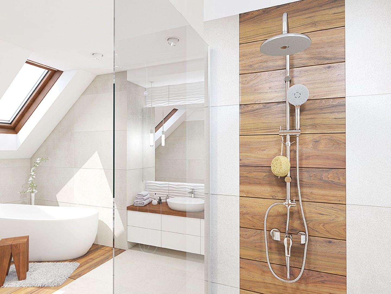 Nowoczesny prysznic - praktyczne i designerskie rozwiązania. Fot. Laveo