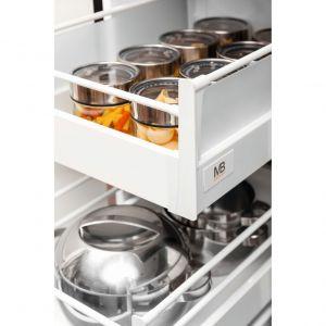 """Szuflady """"Modern Box"""" firmy GTV to rozwiązanie gwarantujące komfort, funkcjonalność i maksymalne wykorzystanie przestrzeni w kuchni. Fot. GTV"""