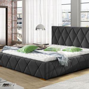 Łóżko tapicerowane Trivio ma oryginalne przeszycia oraz pełne, miękkie kształty uzyskane dzięki unikalnemu stylowi pikowania. Fot. Comforteo