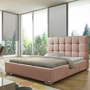 Łóżko tapicerowane Sierra marki Comfoteo. Fot. Comforteo