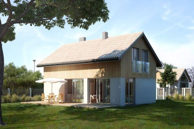 Mały dom. Zobacz uroczy i niedrogi w budowie projekt