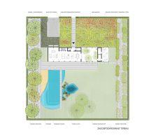 Zagospodarowanie terenu wokół Domu Symbiotycznego. Projekt i wizualizacja: BXBstudio