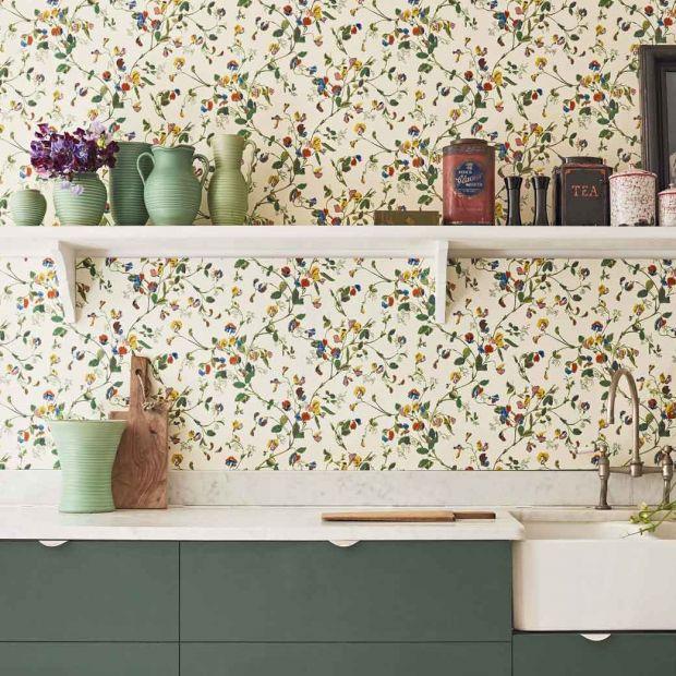 Pomysły na ściany – kolekcja tapet z motywem kwiatowym
