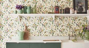 Dzięki różnorodności barw i wzorów nowe tapety pasują do szerokiej gamy stylów i ustawień niejednego wnętrza.