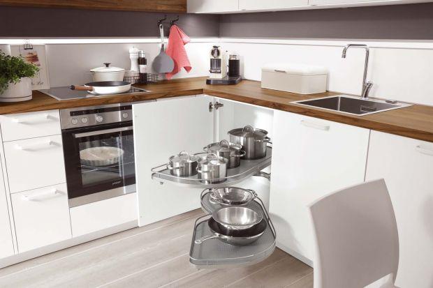 Jak wykorzystać szafki narożne w kuchni? Sprawdź co radzą eksperci!