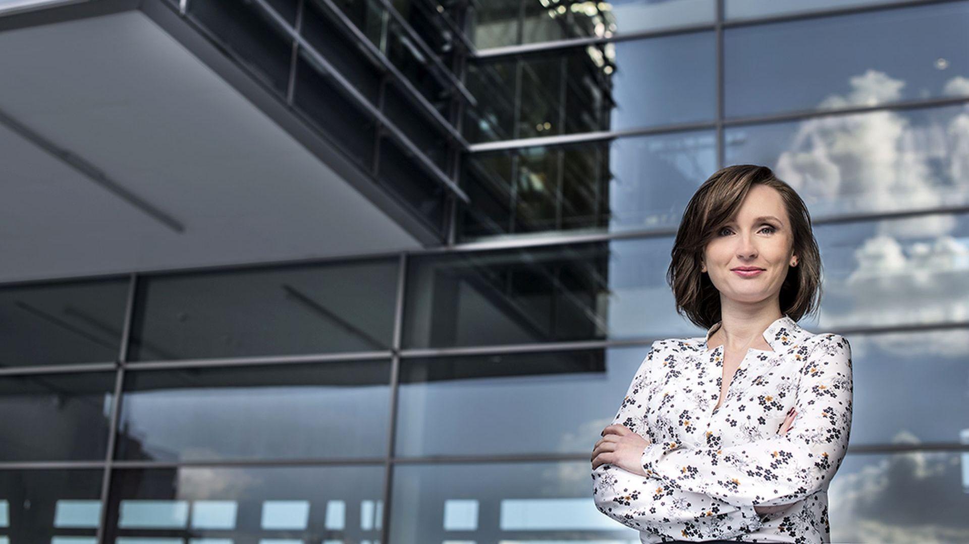 Monika Gawanowska wystąpi w roli eksperta podczas spotkania Studia Dobrych Rozwiązań w Białymstoku, 21 marca 2019 r. Fot. Monika Gawanowska