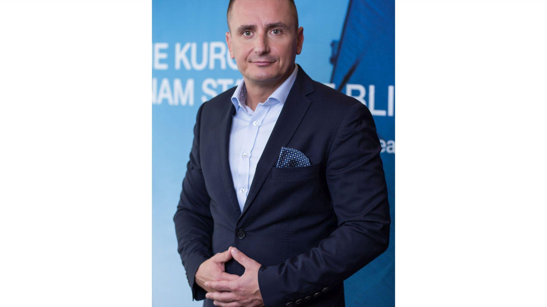 Juliusz Pakuński, kierownik rozwoju biznesu w Dachser European Logistics