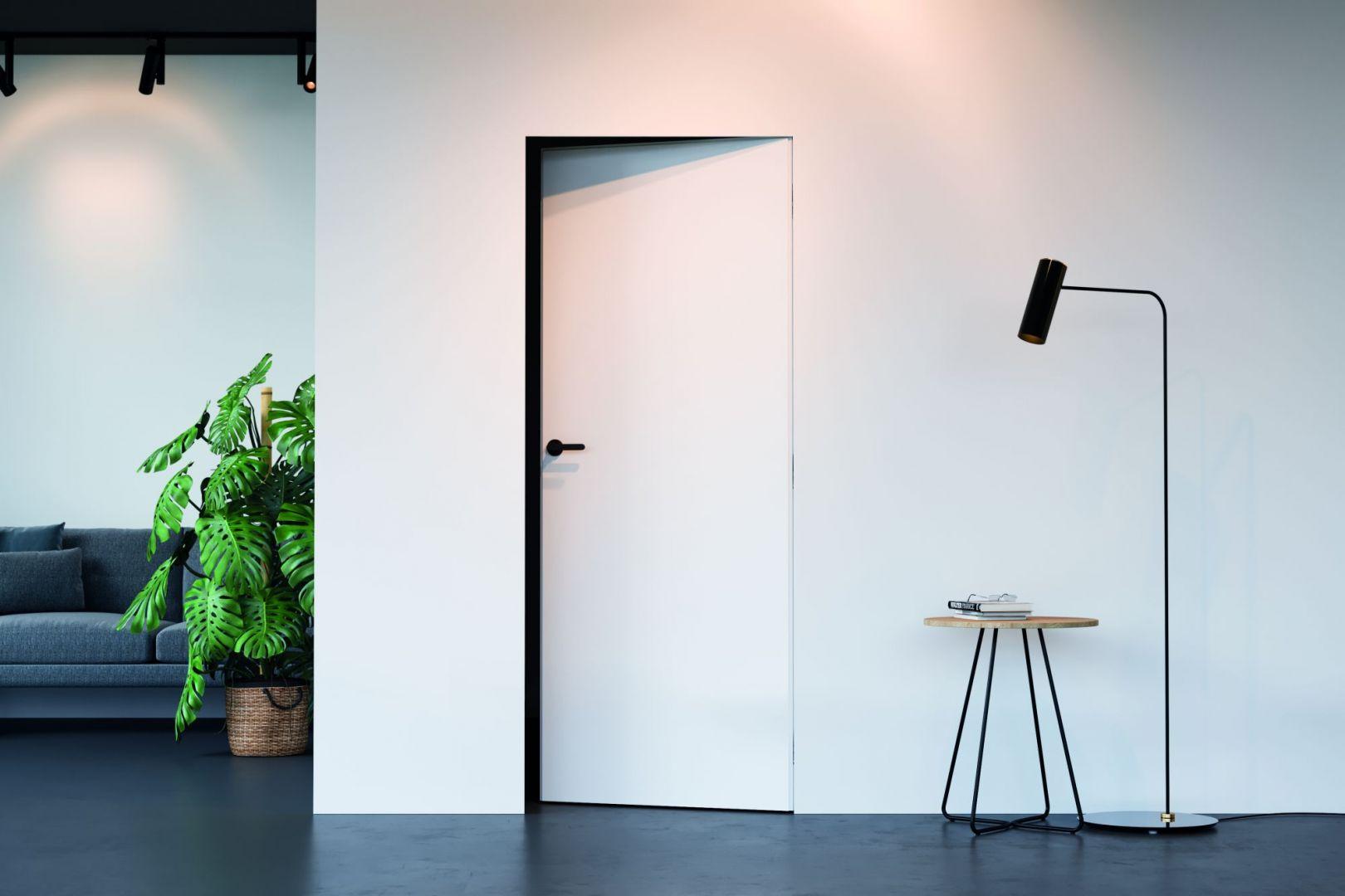 Nowoczesne drzwi - model Porta Hide. Fot. Porta