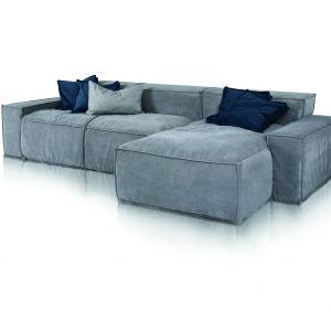 Sofa Cushions, zbudowana na bazie powtarzających się kwadratowych i prostokątnych elementów. Fot. Inspirium