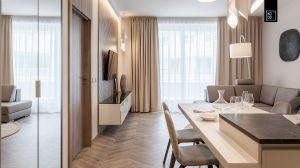 Apartament we wrocławskim Ovo to kwintesencja elegancji. Projekt i zdjęcia: Pracownia Wnętrz KODO
