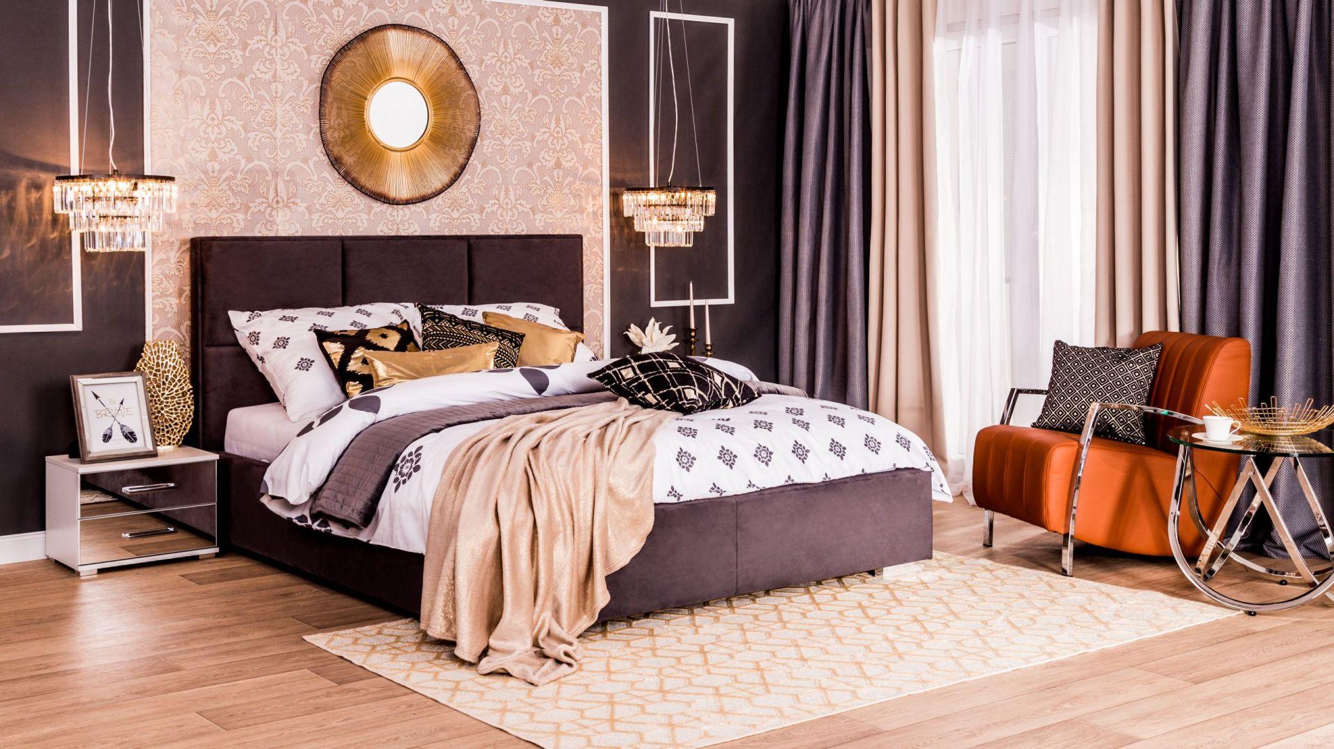 Sypialnia w stylu art déco. Fot. Salony Agata