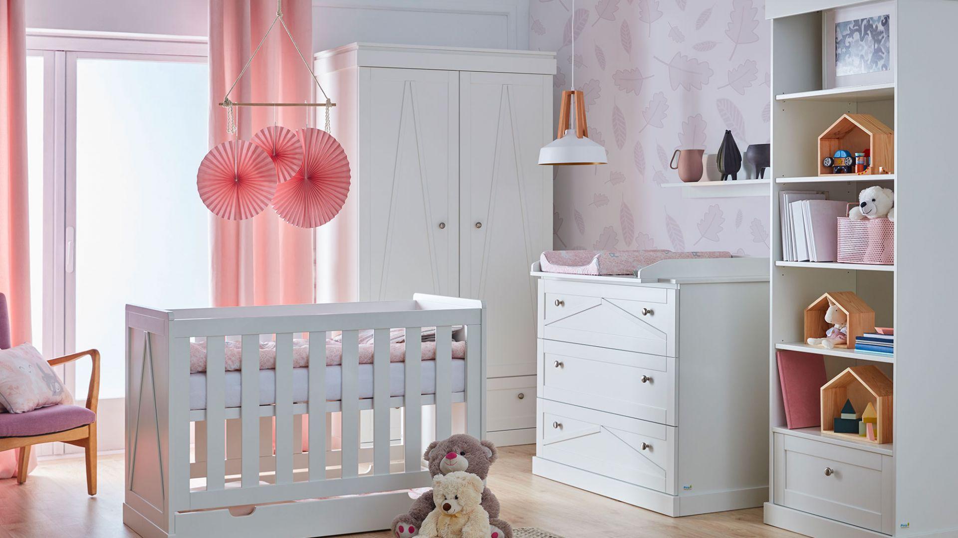 Kolekcja mebli do pokoju dziecka Marie. Fot. Pinio