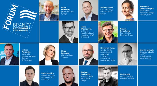 Forum Branży Kuchennej i Łazienkowej: znamy już pełną agendę