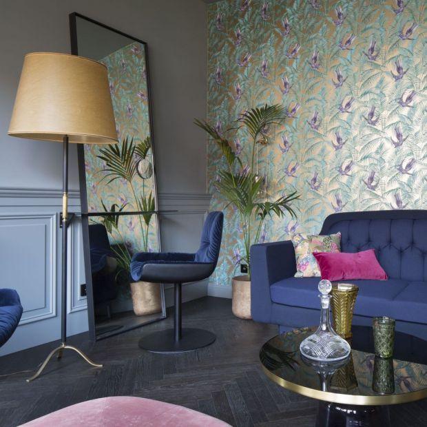 Eklektyczny apartament w Berlinie - w tym wnętrzu nie ma nudy!
