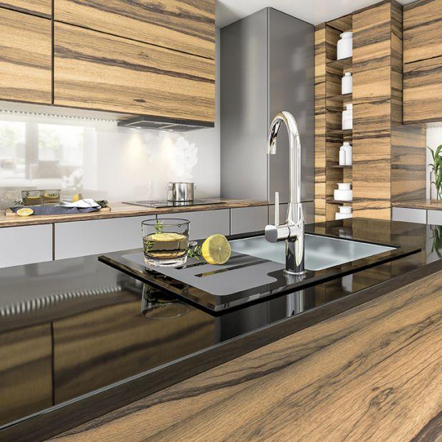 Nowość do kuchni - zlewozmywak ze stali i szkła
