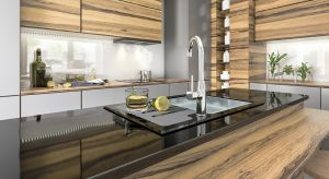 Obok zlewów granitowych i stalowych mamy do wyboru także nowatorski zlewozmywak wykonany ze stali i szkła. To model, który stanowi idealne rozwiązanie do nowoczesnych wnętrz.